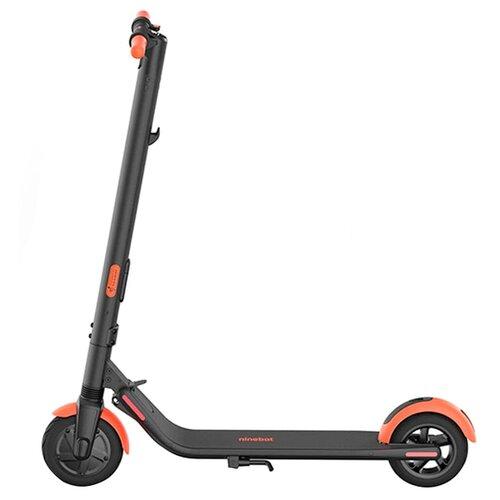 Электросамокат Ninebot KickScooter ES1L, черный/оранжевый