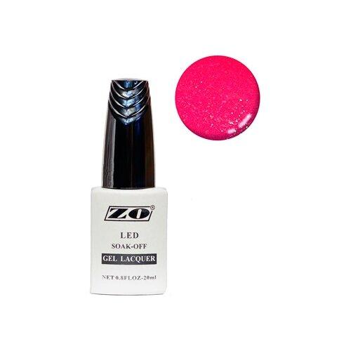 Купить Гель-лак для ногтей ZO GL, 20 мл, 262 насыщенный малиновый шиммер