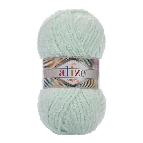 Купить Пряжа для вязания Alize 'Softy Plus' 100г 120м (100% микрополиэстер) (464 мята), 5 мотков