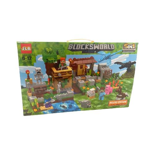 Купить Конструктор JLB Minecraft 3D154, Конструкторы