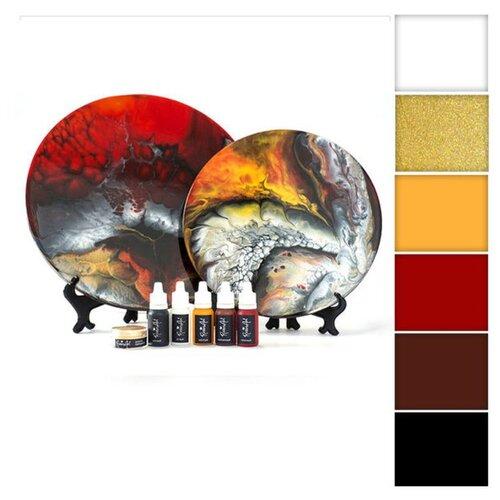 Купить Набор для создания картины эпоксидной смолой ResinArtBox 011, Наборы для декупажа