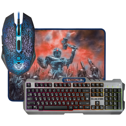 Клавиатура и мышь Defender MKP-013L RU