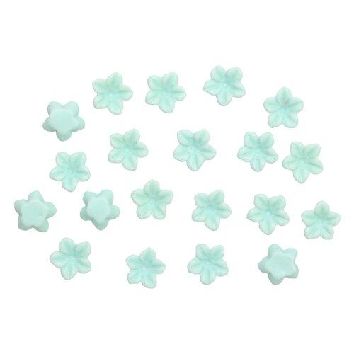 Купить AS12-03, Цветочки для скрапбукинга, 6мм, 20шт/упак (светло-зеленый), Astra & Craft, Украшения и декоративные элементы