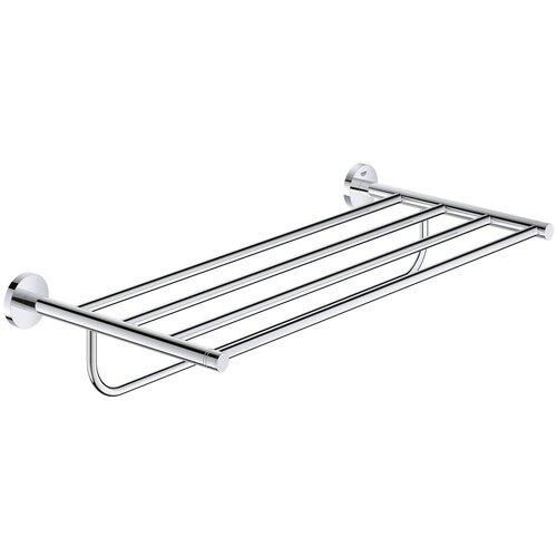 Держатель для банного полотенца GROHE Essentials, хром (40800001) держатель для банного полотенца grohe essentials хром 40800001
