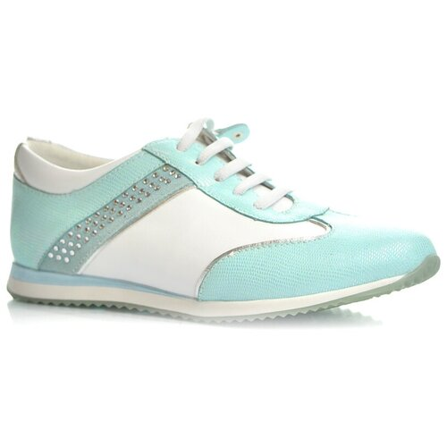 кроссовки для девочки puma st runner v2 nl jr цвет фуксия 36529312 размер 4 5 36 5 Кроссовки Kapika 23285-2 детские для девочки, цвет-бирюза, размер 36