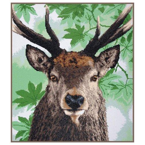 Купить PN-0189502 Алмазная мозаика LanArte 'Гордый благородный олень' 57x65см, Алмазная вышивка