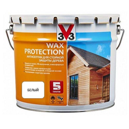 V33 Wax Protection белый 9 л
