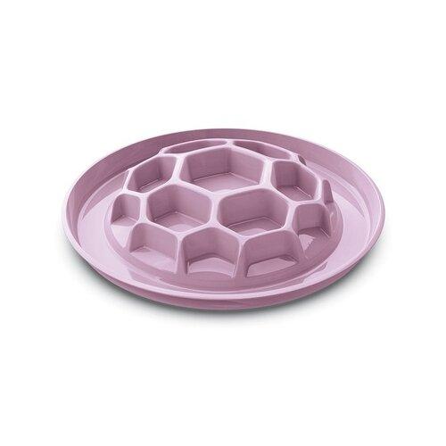 Миска интерактивная HONEY-SLOW FOOD, розовый