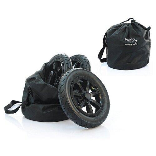 Купить Комплект надувных колес Valco Baby Sport Pack для Snap 4, Snap 4 Ultra, Snap Duo / Black, Аксессуары для колясок и автокресел