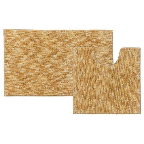 Фото - Набор ковриков для ванной комнаты Iddis 50х80, 50х50 см B15M580i12 242m590i13 набор ковриков для ванной комнаты 60х90 50х50 см микрофибра beige landscape id