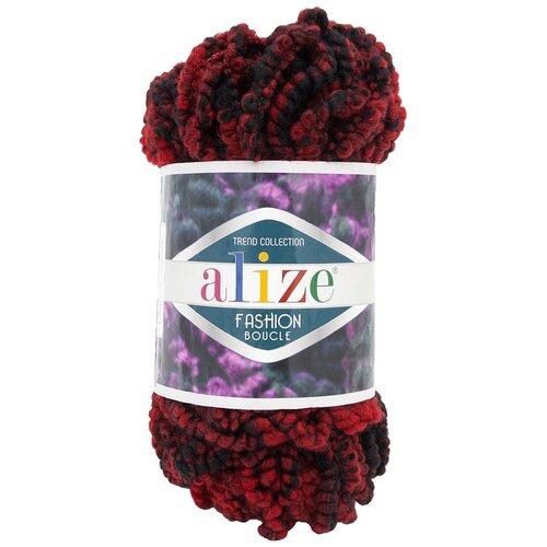 Купить Пряжа для вязания Alize 'Fashion boucle' 100гр., 35м. (70%акрил, 25% шерсть, 5% полиамид) ТУ (5571), 5 мотков