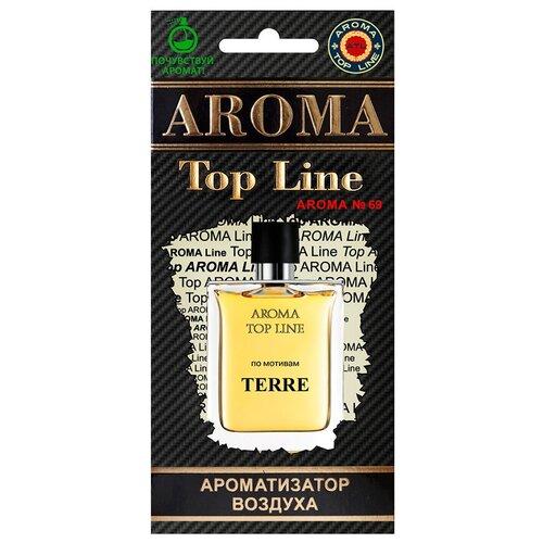AROMA TOP LINE Ароматизатор для автомобиля Aroma №69 Terre D`Hermes 14 г