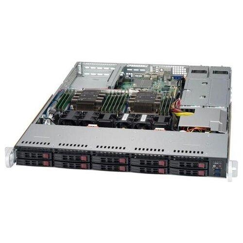 Фото - Корпус для сервера 1U Supermicro CSE-116AC2-R706WB2 корпус supermicro cse 116ac2 r706wb 1u