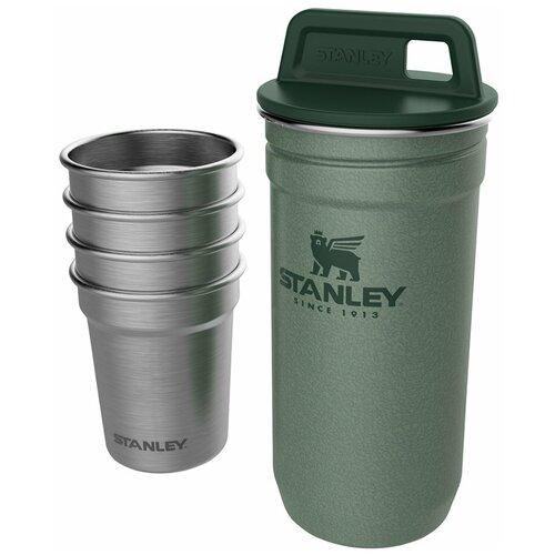 Набор стопок Stanley Adventure (10-01705-039) 0.59 л с зеленым футляром