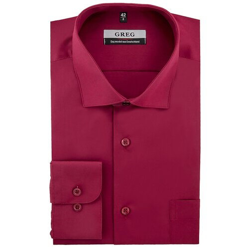 Рубашка мужская длинный рукав GREG 630/119/CH Рост 174-184 Размер 46