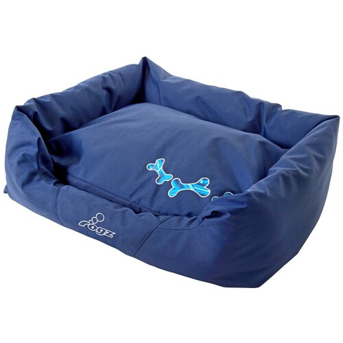 Лежак для собак и кошек Rogz Spice Pod Navy Zen PPLCD 88х55х26 см синий