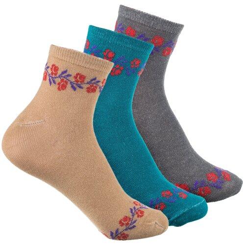 Носки женские Веселый носочник Бамбук укороченные р 37-41 6 пар