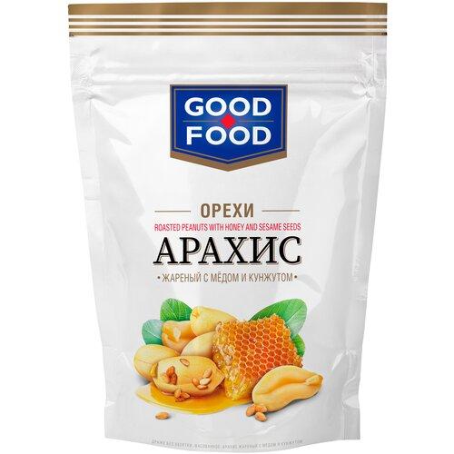 Арахис GOOD FOOD жареный с медом и кунжутом, 130 г арахис good food жареный с медом и кунжутом 130 г