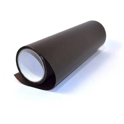 Пленка для фар защитная автомобильная, матовая - 30х97 см, цвет: черный