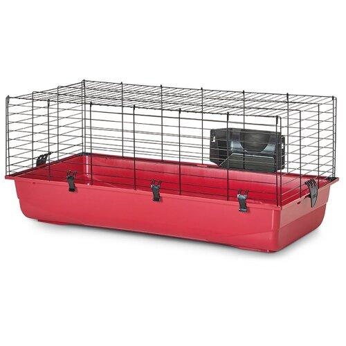 Клетка для грызунов SAVIC Ambiente 100 100х50х43 см красный/черный