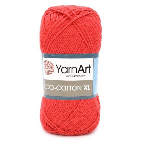 Купить Пряжа YarnArt 'Eco Сotton XL' 200гр 220м (85% хлопок, 15% полиэстер) (769 красный), 5 мотков
