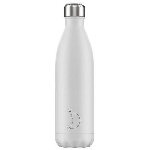 Термобутылка Chilly's Monochrome, 0.75 л white