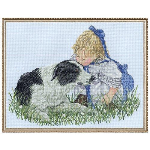 Купить Набор для вышивания Поцелуй JANLYNN 008-0204, Наборы для вышивания