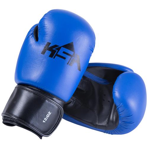 Перчатки боксерские Spider Blue, кз, 10 oz, УТ-00017806