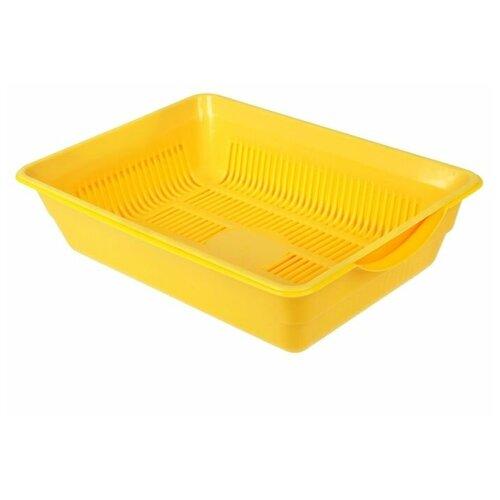 Фото - Туалет-лоток для кошек Сима-ленд 1430475\1430476\1430477\1430478\1544600\2885087 36х26х9 см желтый автобус сима ленд 1011448 25 см желтый
