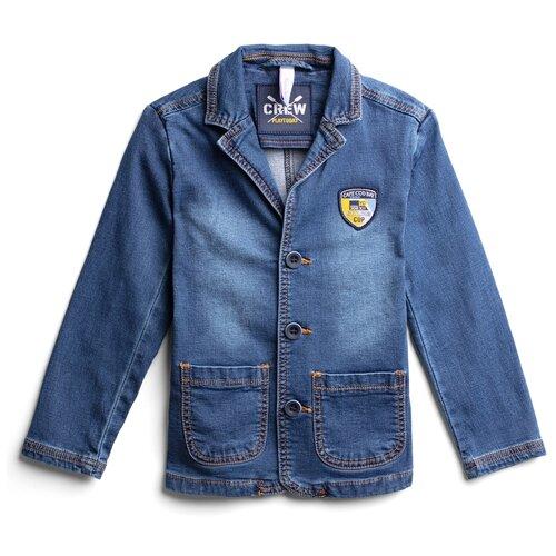 Пиджак playToday размер 152, синий, Пиджаки  - купить со скидкой