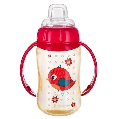 Фото - Поильник-непроливайка Canpol Babies 56/512, 320 мл красный поильник непроливайка canpol babies 56 512 320 мл бирюзовый