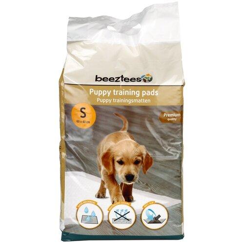 Пеленки для щенков впитывающие Beeztees Puppy Training Pads S 60х40 см 20 шт. пеленки для щенков многоразовые впитывающие zooone 6040m 60х40 см бордовый