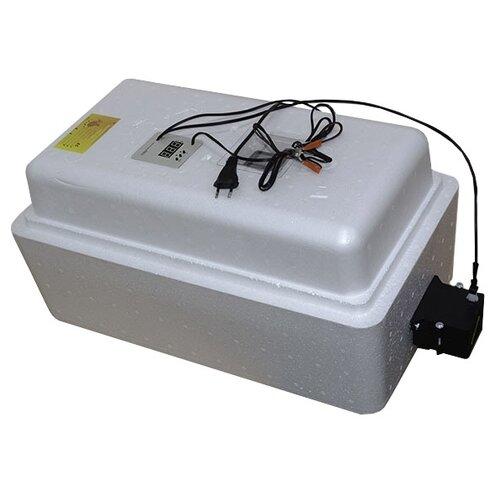 Инкубатор Завод ЭлектроБытовых Товаров Несушка на 36 яиц, автоматический переворот, аналоговый терморегулятор с цифровой индикацией белый