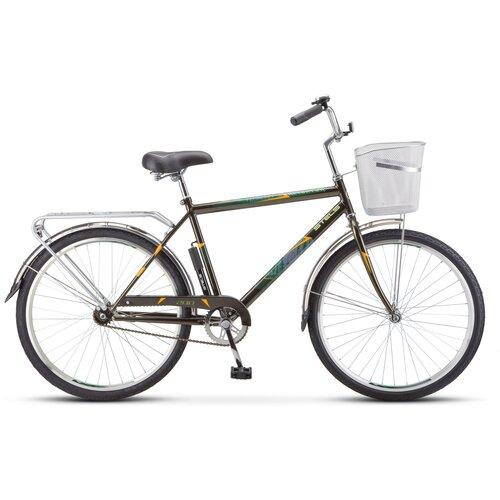 Горный (MTB) велосипед STELS Navigator 200 Gent 26 Z010 (2021) оливковый 19 (требует финальной сборки)