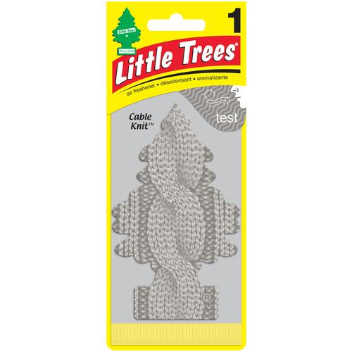Little Trees Ароматизатор для автомобиля Ёлочка Уютное тепло (Cable Knit) 30 г little trees ароматизатор для автомобиля ёлочка не курить no smoking