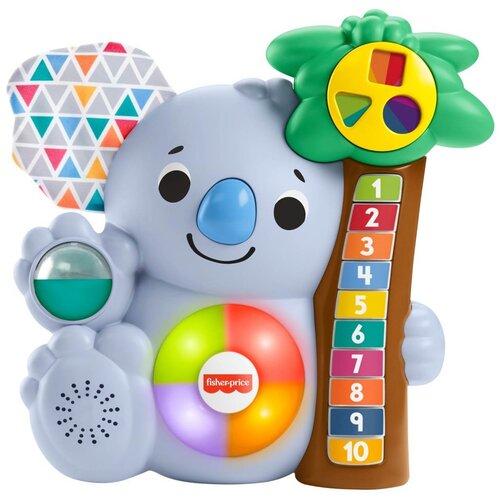 Фото - Развивающая игрушка Fisher-Price Считающая Коала GRG60, голубой развивающая игрушка fisher price веселые ритмы бибо бибель fcw42