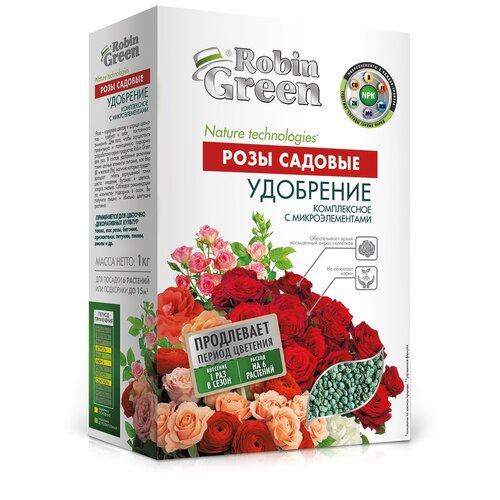 Удобрение Robin Green минеральное. Розы садовые, 1 кг