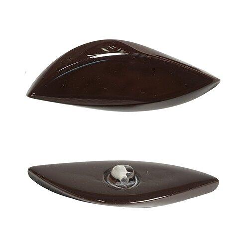 Купить Б21 Пуговица (3.01-072-57) (т.коричневый), 12 шт, Astra & Craft, Пуговицы