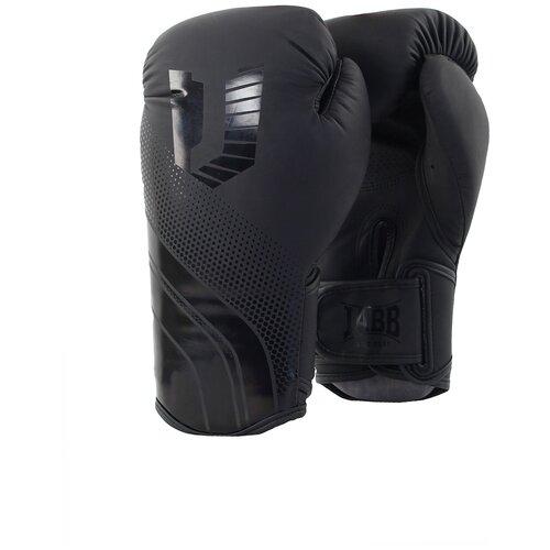 Перчатки бокс.(иск.кожа) Jabb JE-4077/Asia 77 черный 10ун.
