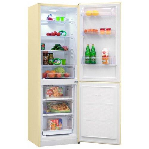 Двухкамерный холодильник NordFrost NRB 152 NF 732 бежевый