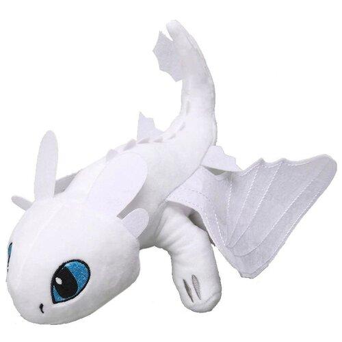 Мягкая игрушка Дневная Фурия (белая) - Как приручить Дракона 35 см.