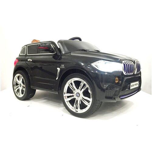 Купить RiverToys Автомобиль BMW X5 E002KX, черный, Электромобили