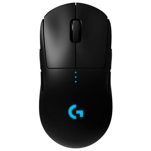 Беспроводная мышь Logitech G Pro Wireless, черный мышь logitech g g604 black wireless черный
