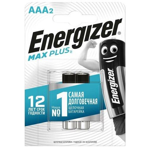 Фото - Energizer Элемент питания алкалиновый Max Plus LR03/286 BL2 (2/24) (блист.2шт) Energizer E301306503 элемент питания navigator 94 750 nbt ne lr03 bp2