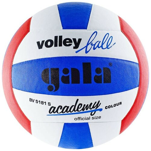 Волейбольный мяч Gala Academy белый/красный/синий