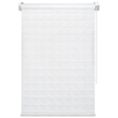Рулонная штора FixLine Twist (белый), 60х180 см
