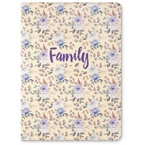 Фото - Flexpocket / Папка для семейных документов / Семейная папка / Органайзер для документов, формат А4 цветы папка для документов rhino 08 brown винтаж натуральная кожа