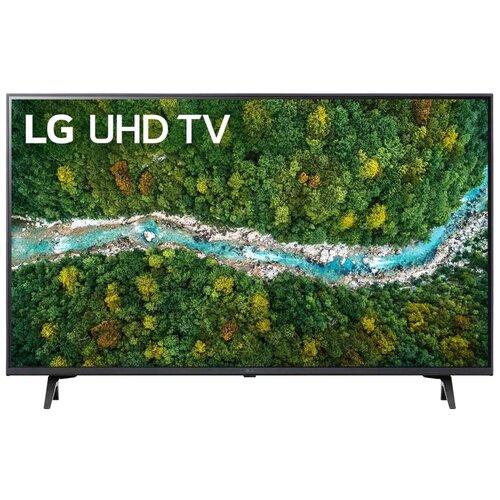 Фото - Телевизор LG 43UP77006LB 42.5 (2021), черный телевизор lg 60up80006la черный