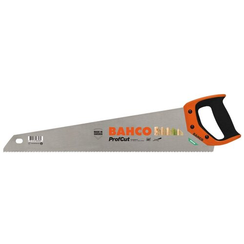 Ножовка по дереву BAHCO ProfCut PC-22-FILE-U7 550 мм ножовка японская bahco profcut с обушком 270 мм