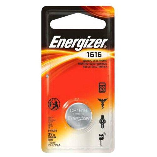 Фото - Батарейка Energizer CR1616, 1 шт. батарейка трофи cr1616 1 шт
